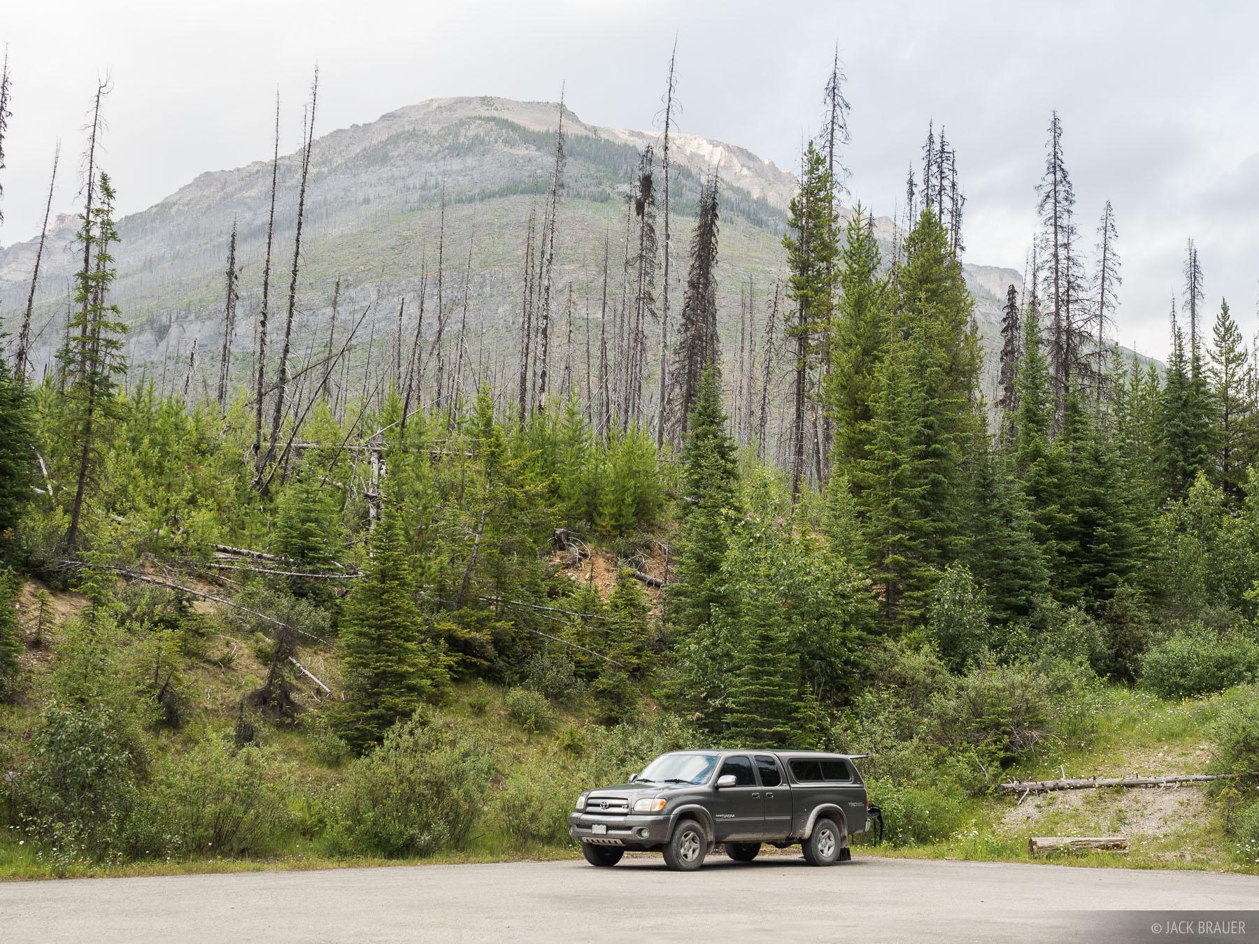 Alberta, Banff, Canada, truck, photo