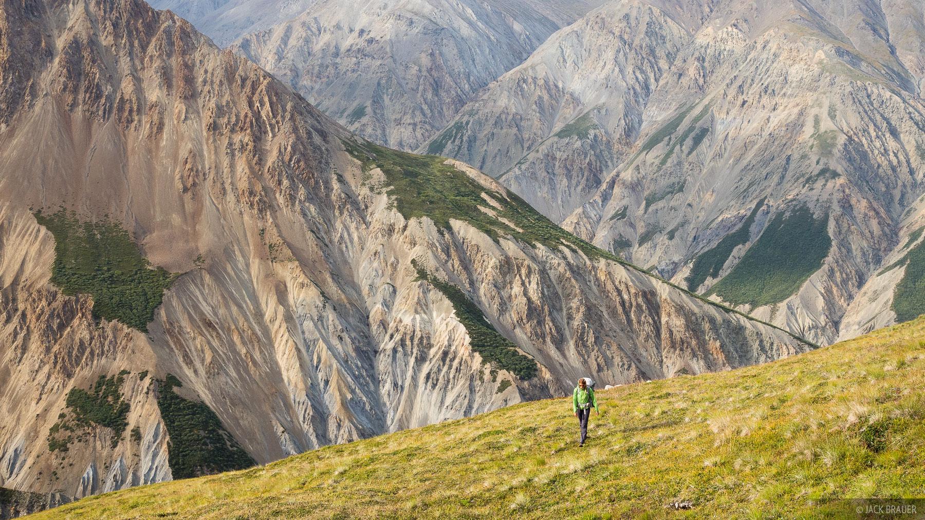 Canada, Kluane National Park, Slims River, Yukon, hiking, photo