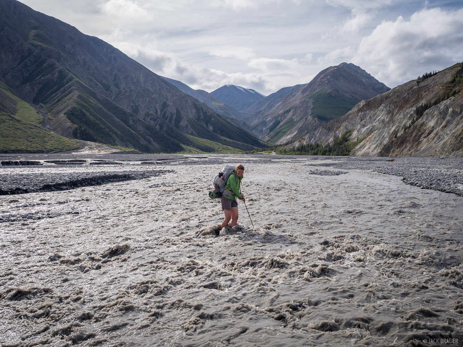 On this trek we had plenty of opportunities to hone our river crossing skills. Canada Creek in particular can test one's patience...