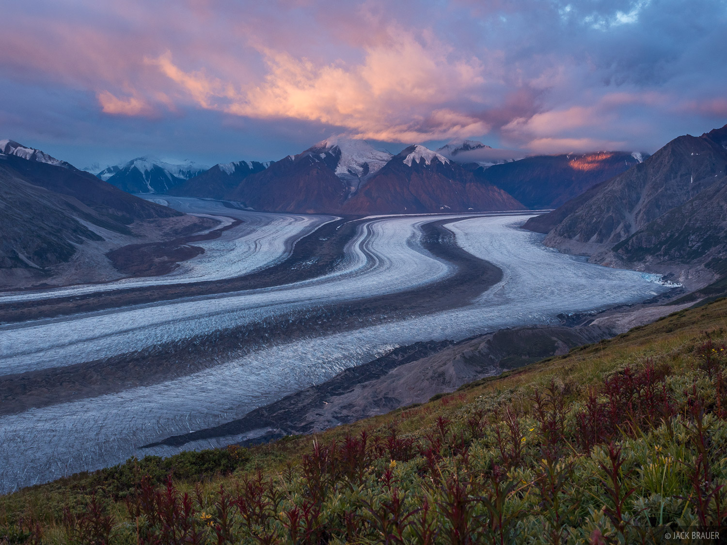 Canada, Kaskawulsh Glacier, Kluane National Park, Slims River, Yukon, photo