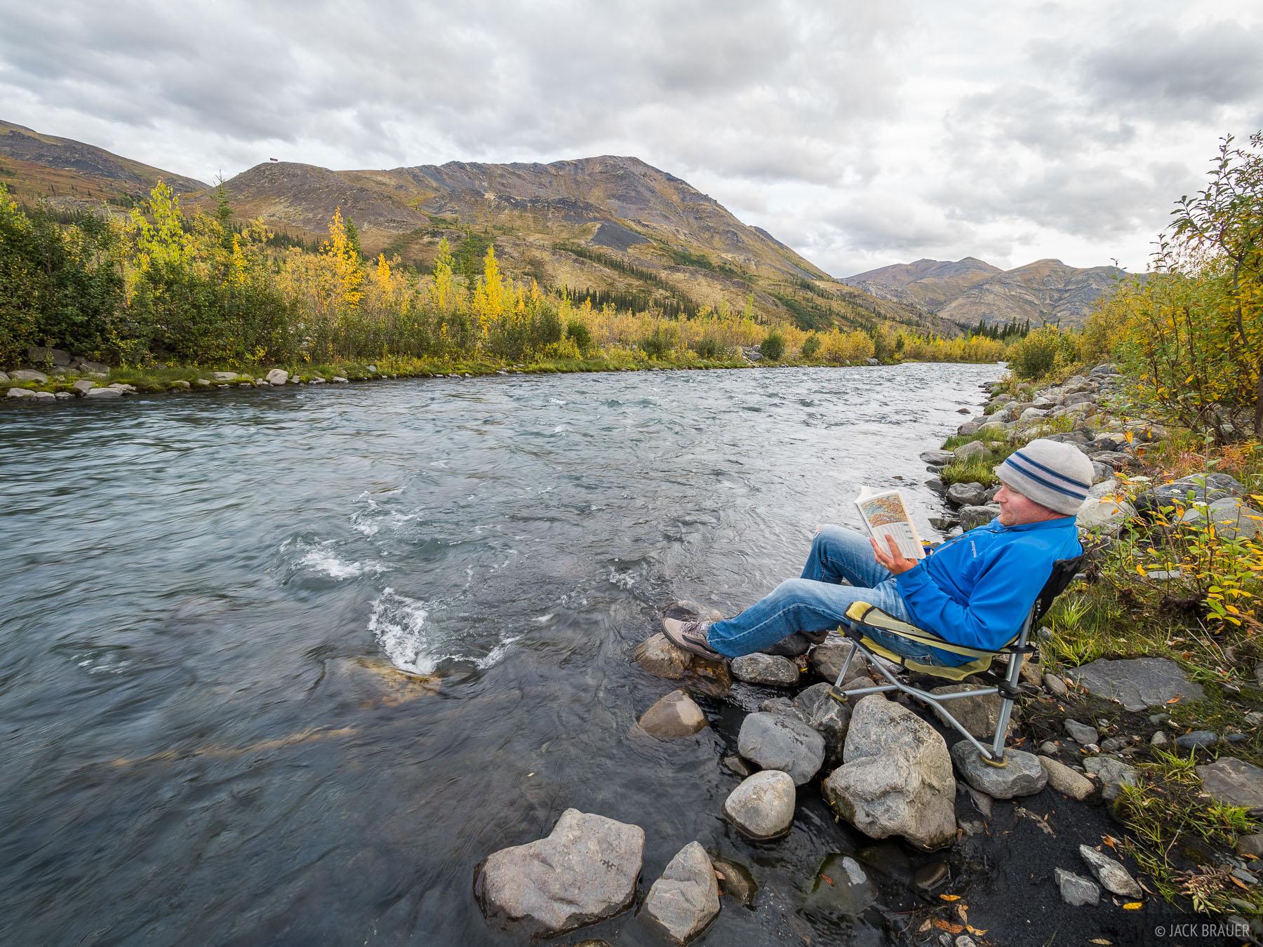 Canada, Jack, Klondike River, Tombstone Territorial Park, Yukon, photo