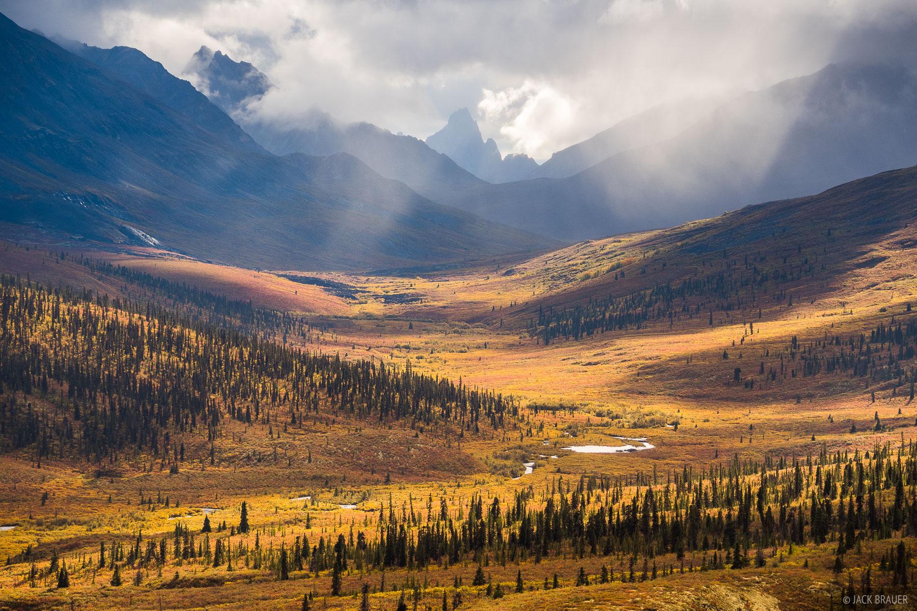 Canada, Tombstone Mountain, Tombstone Territorial Park, Yukon, tundra