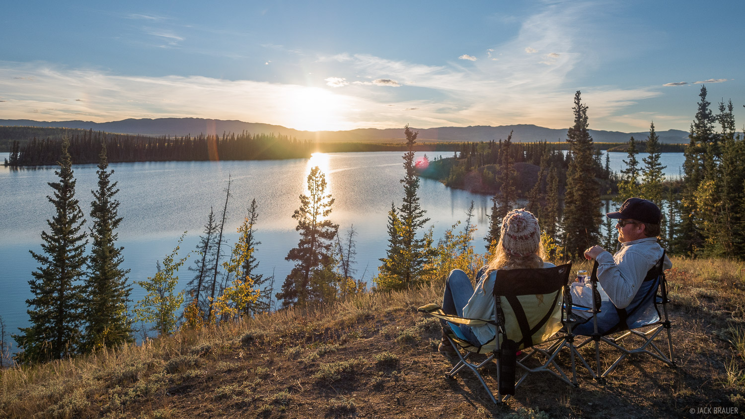 It took five days of solid driving to get from Dawson in the northern Yukon down to our next destination of Jasper in the Canadian...