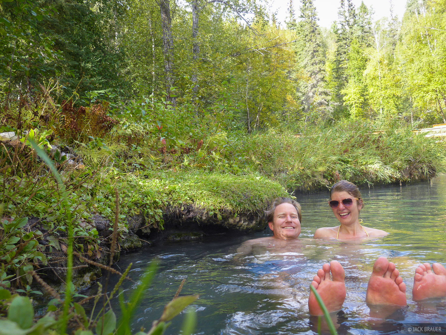 British Columbia, Canada, Liard Hot Springs, photo