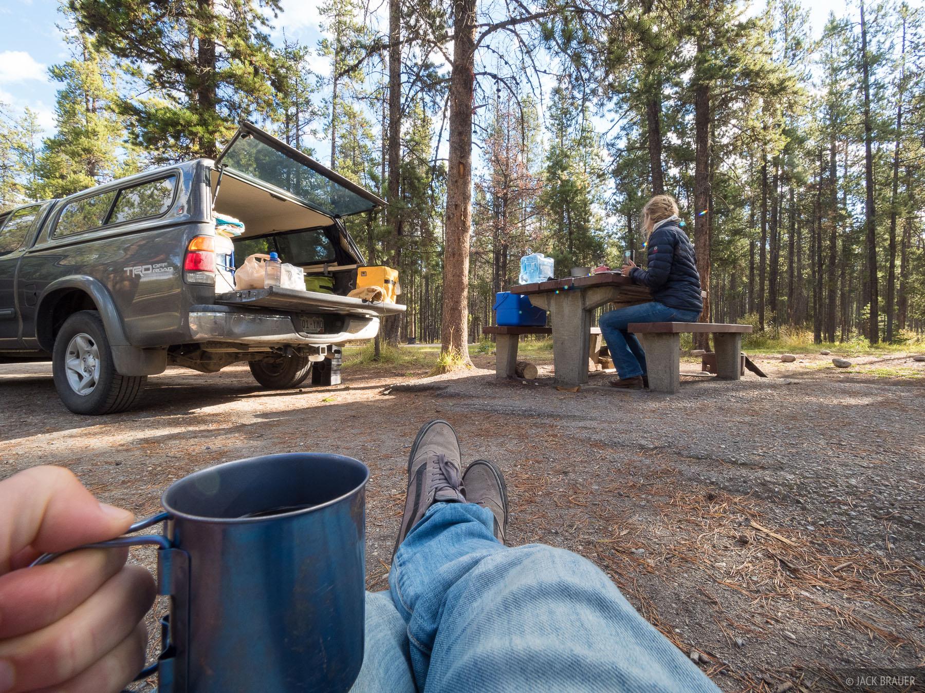 Alberta, Canada, Jasper, truck, photo