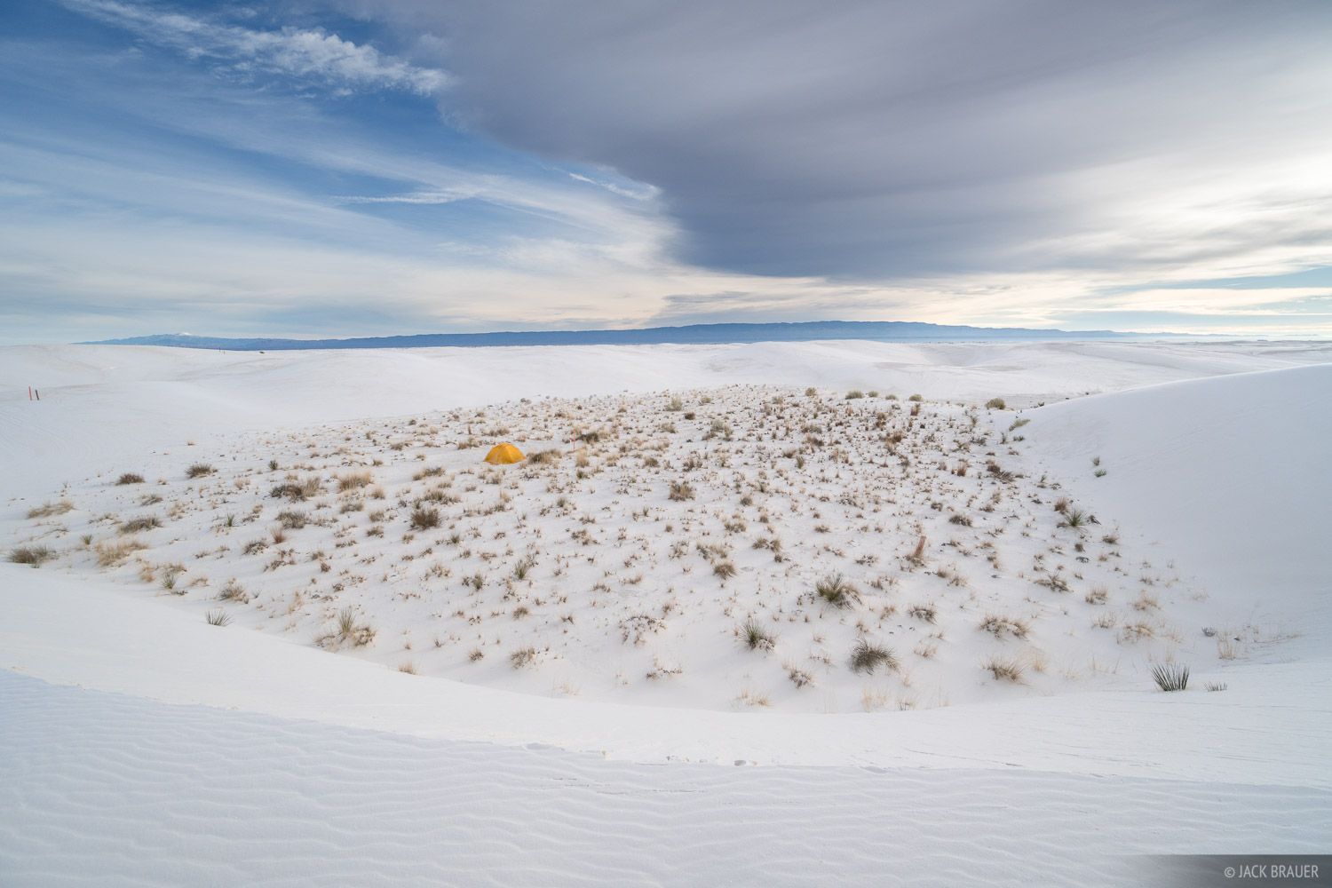 New Mexico, White Sands National Monument, tent, Dunes, photo