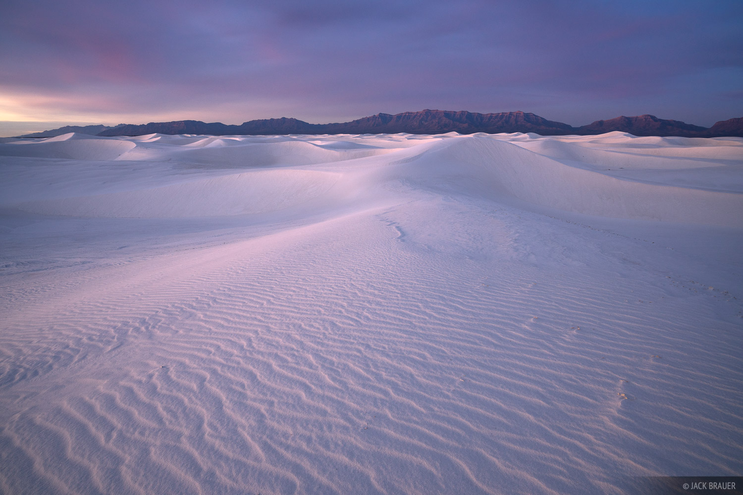 New Mexico, White Sands National Monument, Dunes, photo