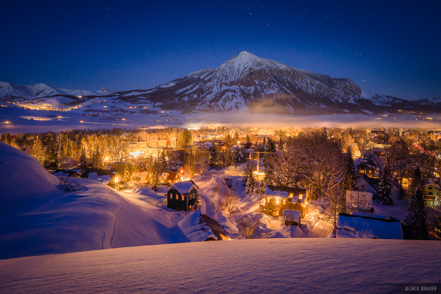Colorado, Crested Butte, winter, January, photo