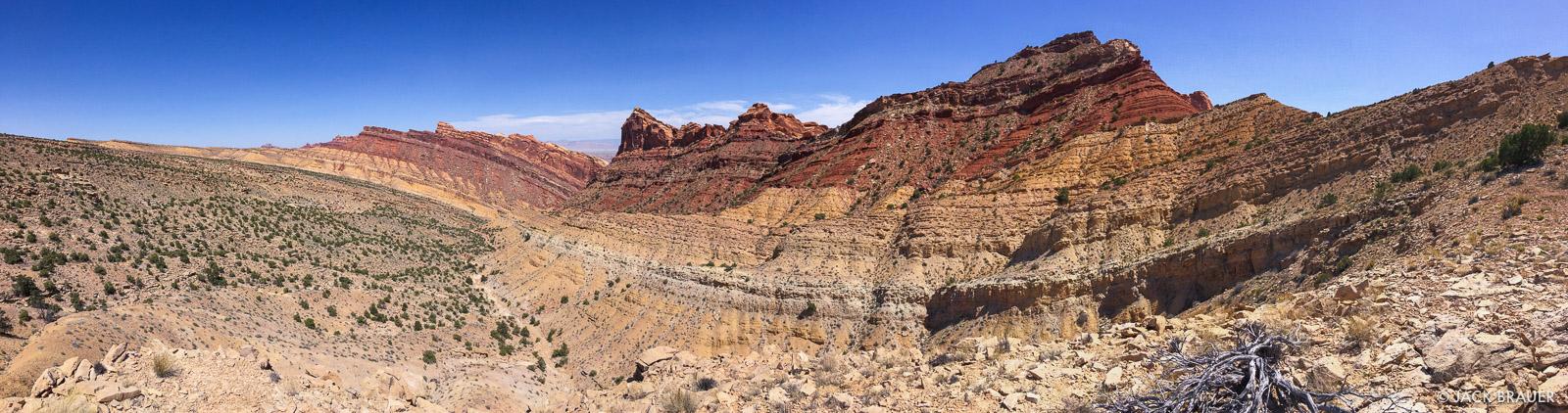 San Rafael Swell, Utah, panorama, photo