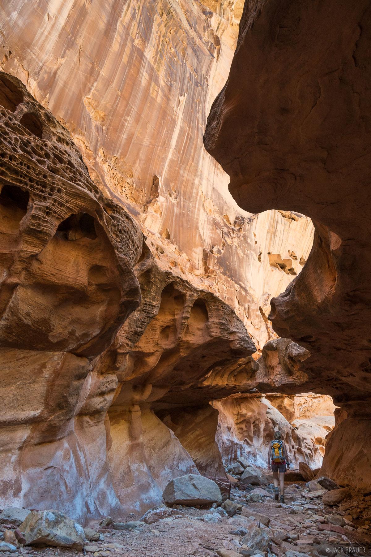 Crack Canyon, San Rafael Swell, Utah, hiking, photo