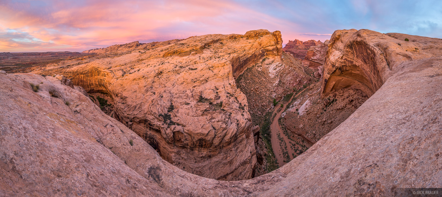 Black Dragon Wash, San Rafael Swell, Utah, panorama, sunrise, photo