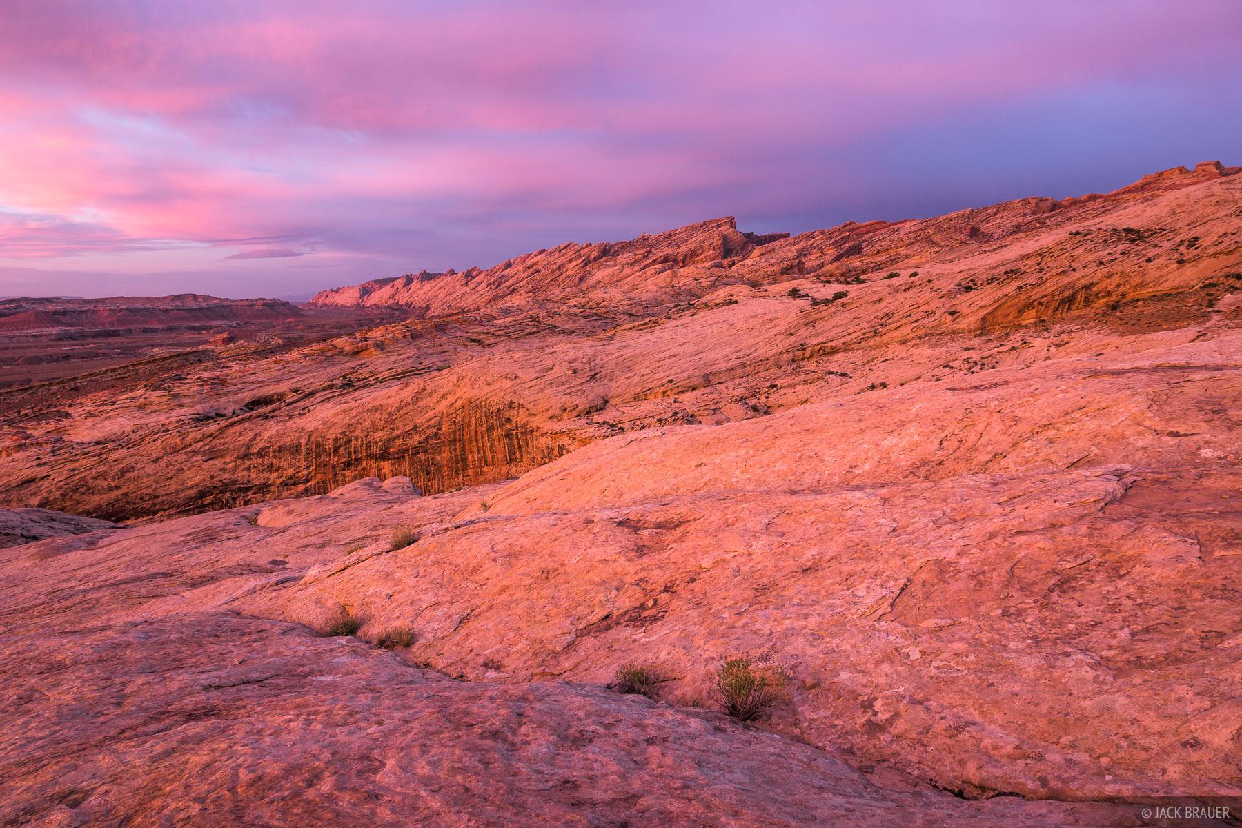 Dragon Sandstone, San Rafael Swell, Utah, photo