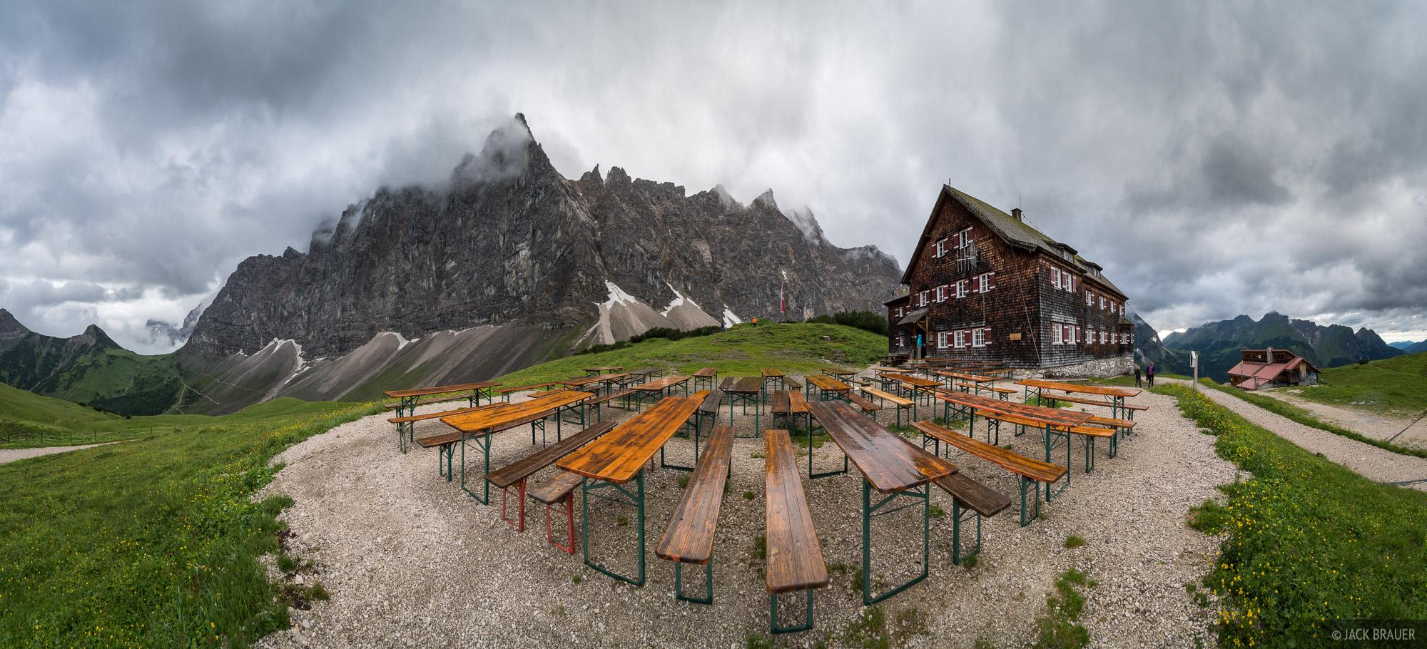 Austria, Falkenhütte, Karwendel, Alps, hut, photo