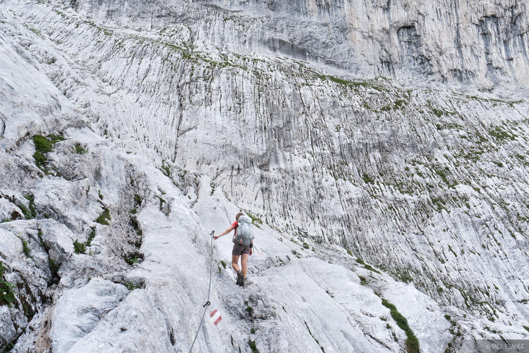Austria, Eggersteig, Kaisergebirge, Wilder Kaiser, klettersteig, photo