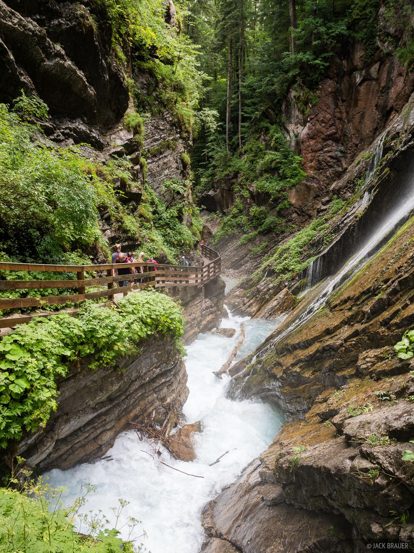 Berchtesgaden, Europe, Germany, Wimbachklamm, photo