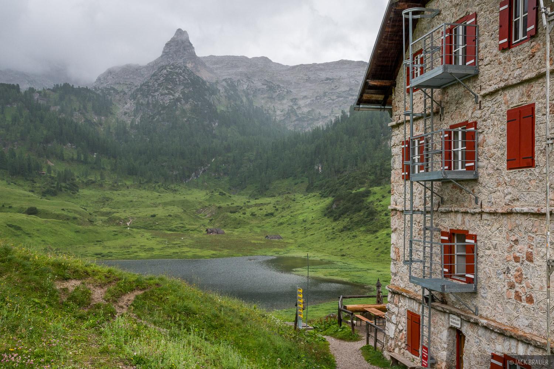 Berchtesgaden, Europe, Funtensee, Germany, Kärlingerhaus, hut, photo