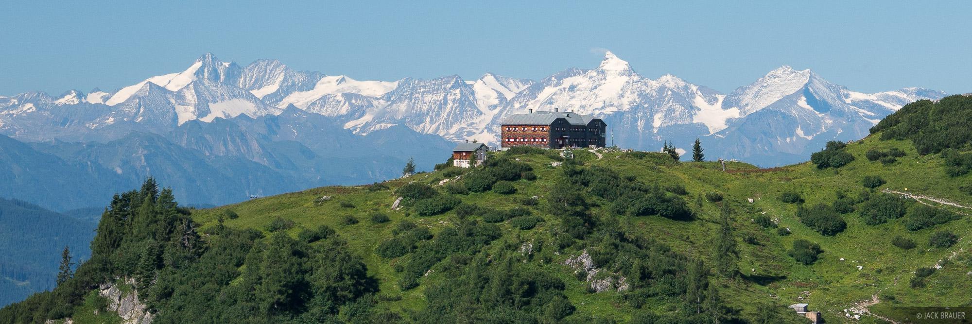 Austria, Dachstein, Hofpürglhütte, hut, photo