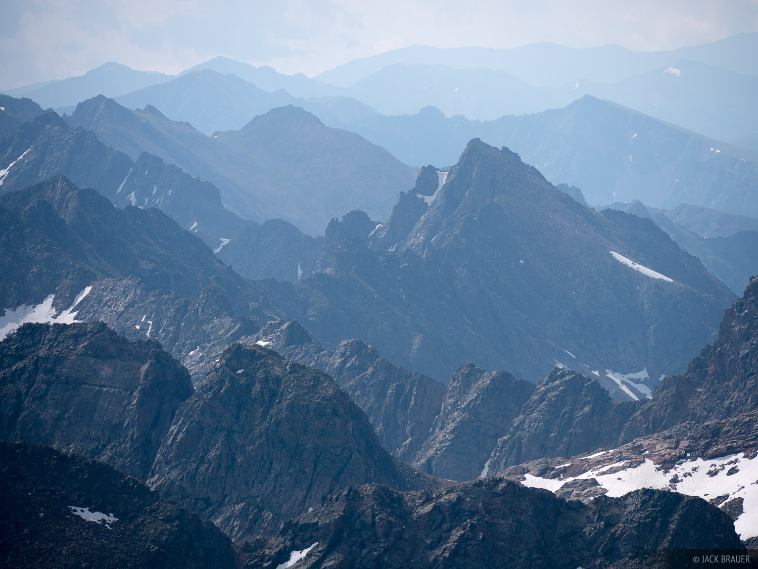Colorado, Gore Range, Mount Powell, Eagles Nest Wilderness, photo