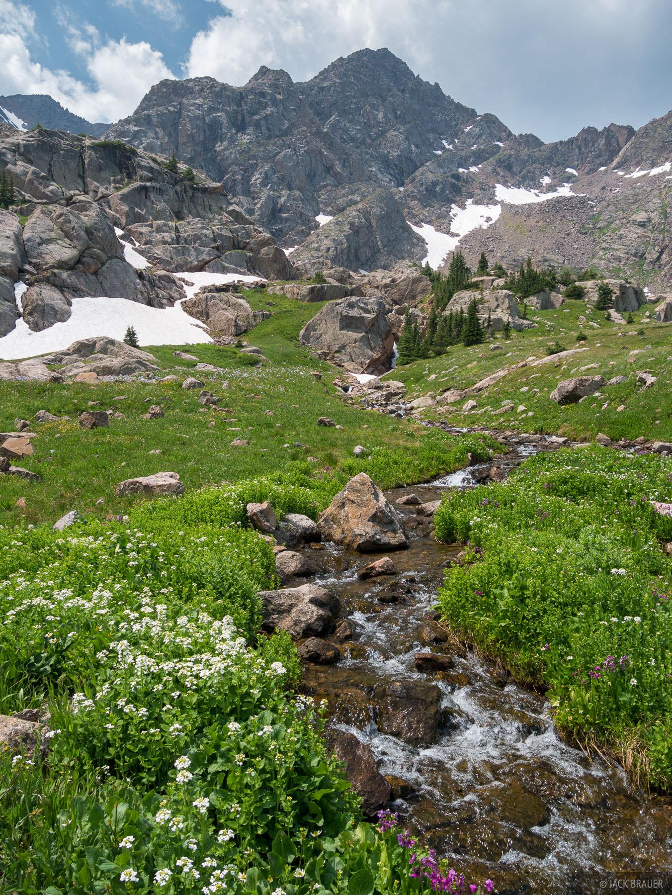 A typical high alpine Colorado summer paradise scene.
