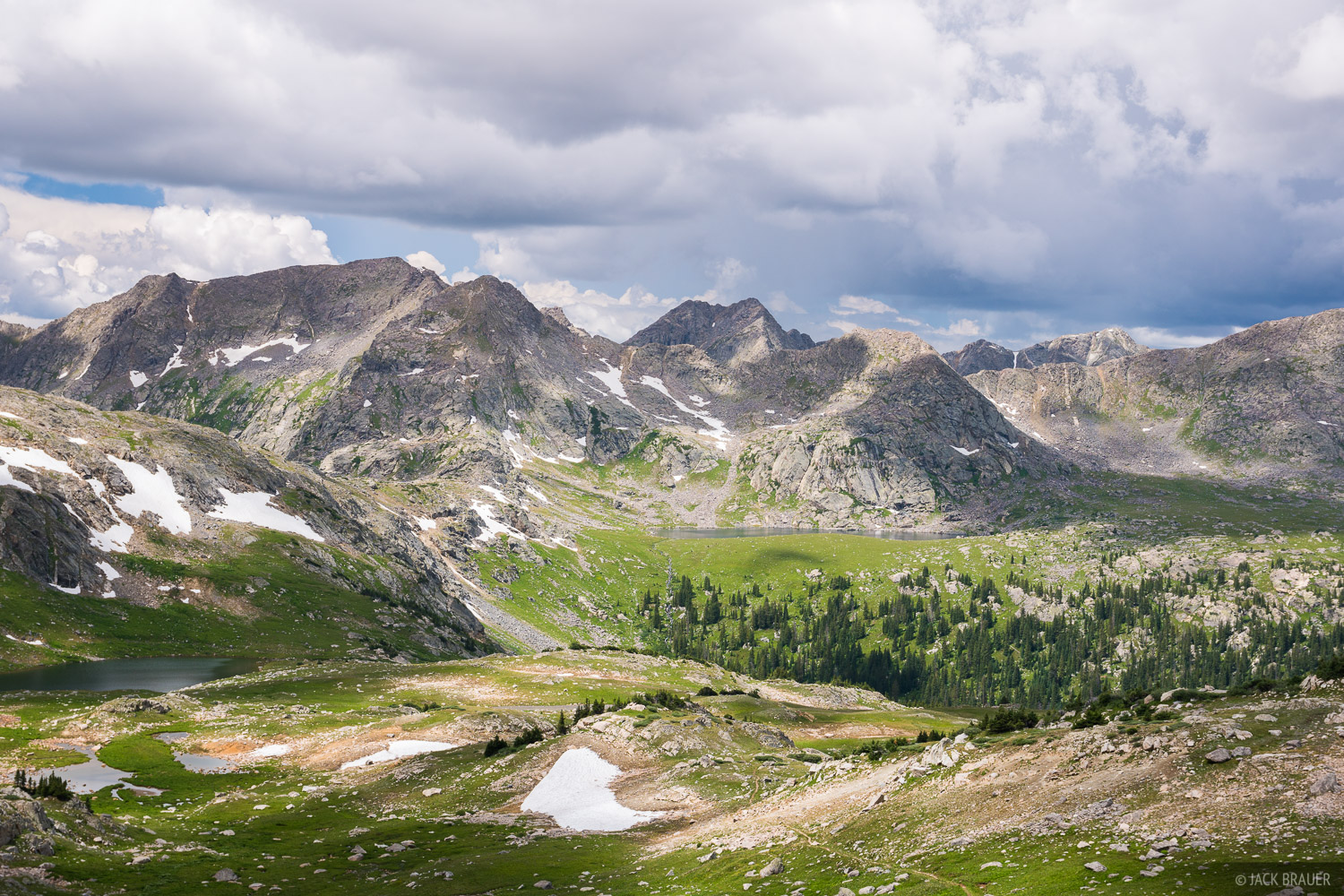 Colorado, Fancy Pass, Holy Cross Wilderness, Treasure Vault Lake, Sawatch Range, photo