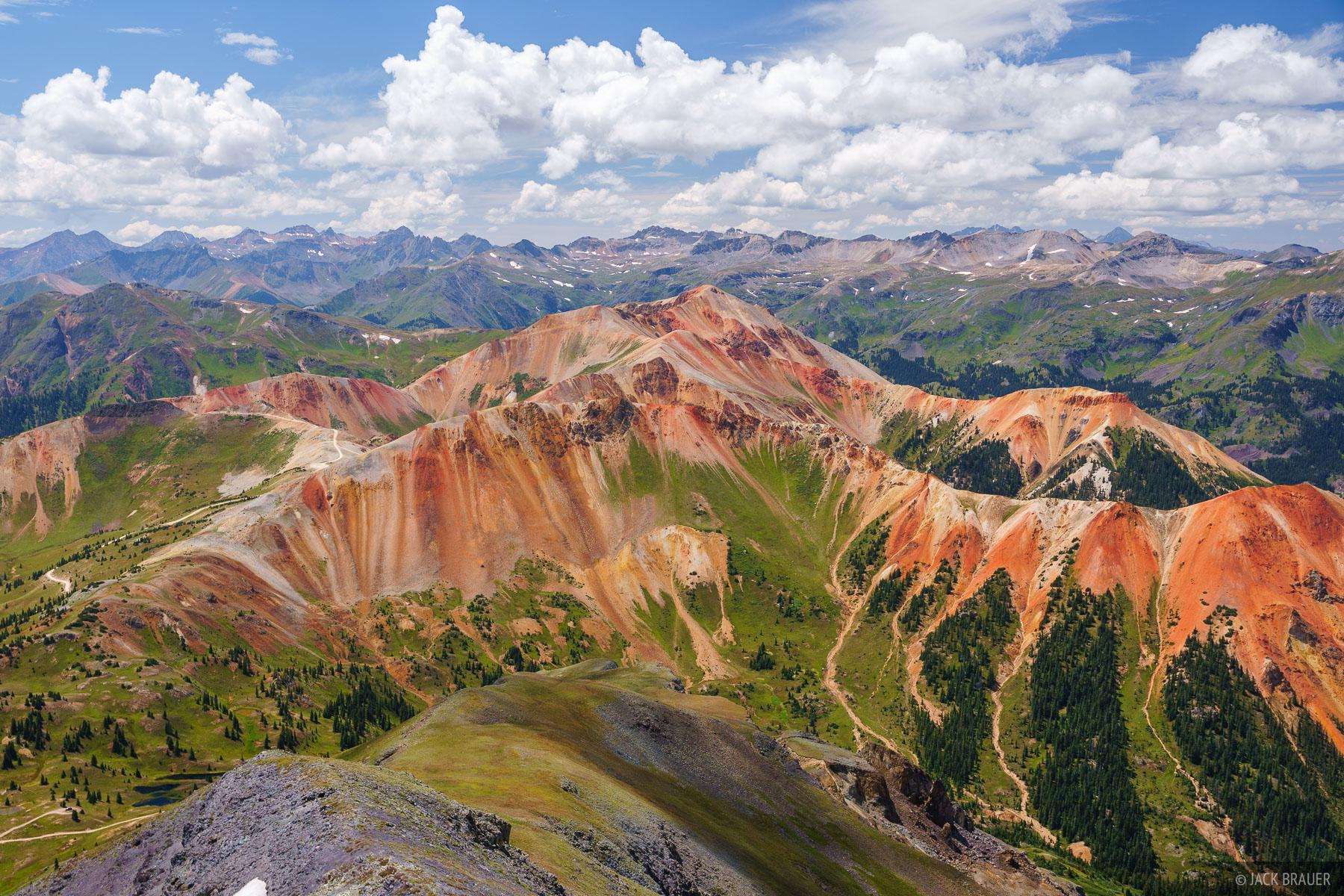 Brown Mountain, Colorado, Red Mountain, San Juan Mountains, photo