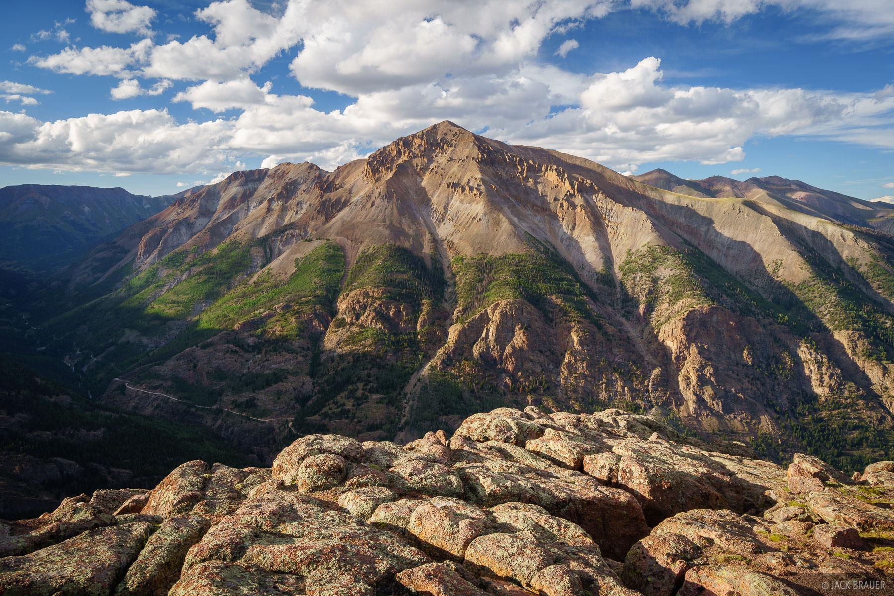 Colorado, San Juan Mountains, Sunshine Peak, 14er, photo