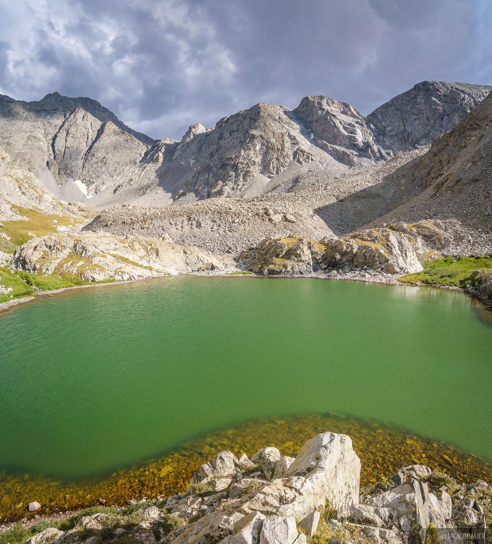 Colorado, Ellingwood Point, Sangre de Cristos, South Zapata Lake, Sangre de Cristo Wilderness, photo
