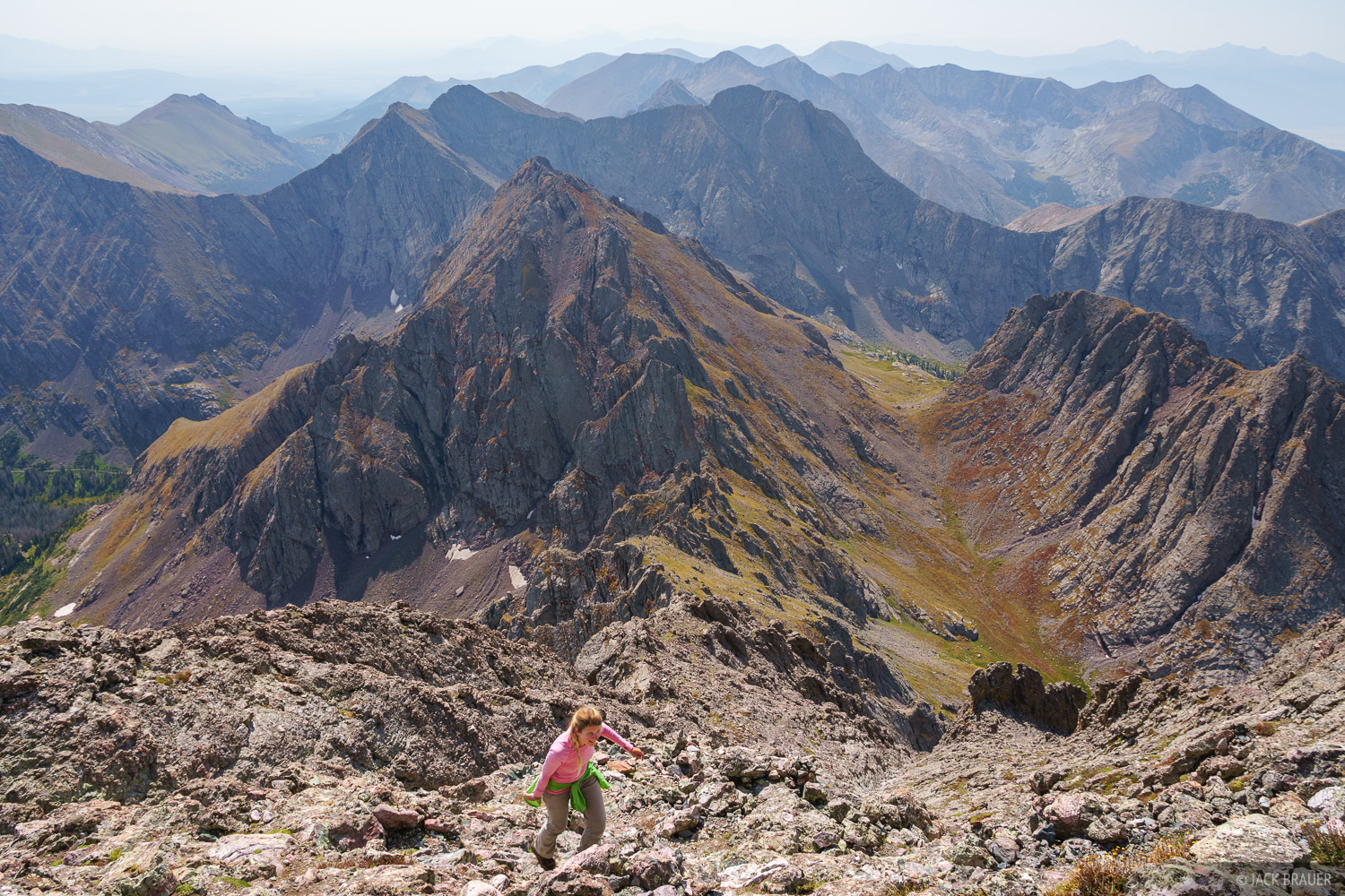 Broken Hand Peak, Colorado, Crestone Needle, Sangre de Cristos, 14er, hiking, Sangre de Cristo Wilderness, photo