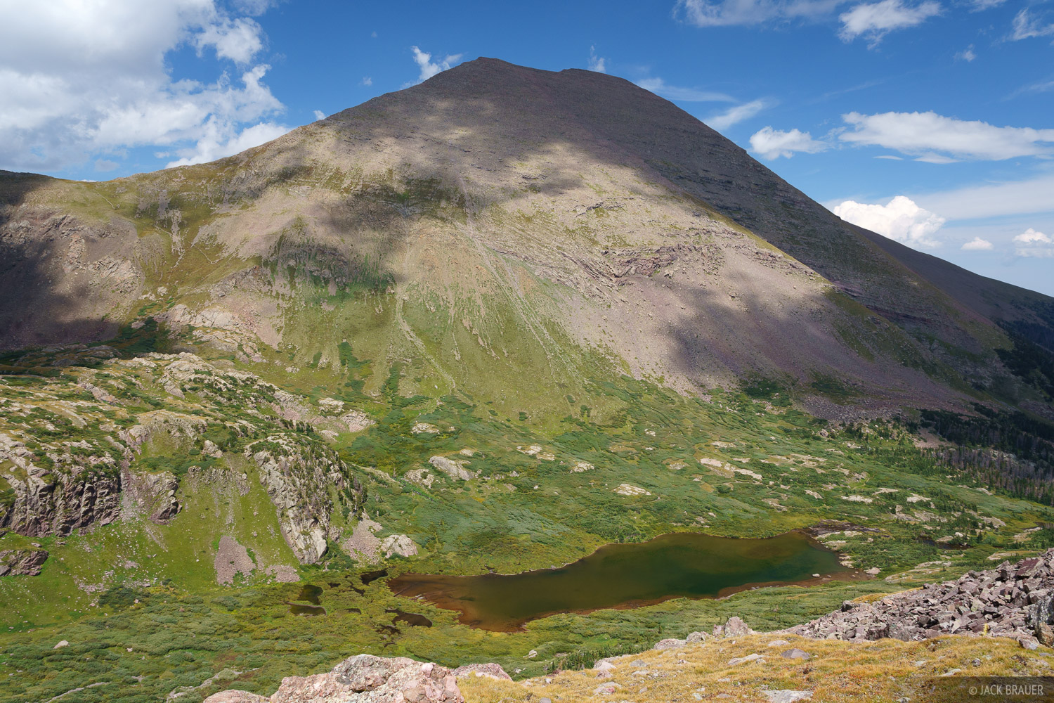 Colorado, Humboldt Peak, Sangre de Cristos, South Colony Lake, 14er, Sangre de Cristo Wilderness, photo