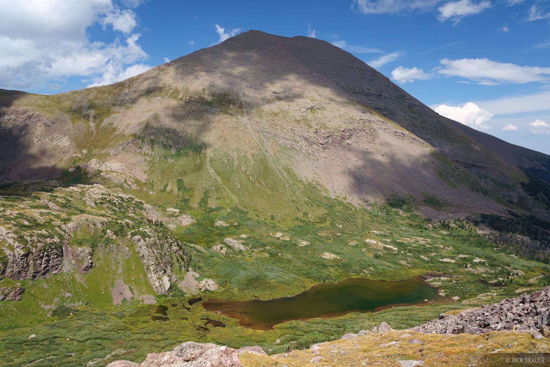 Colorado, Humboldt Peak, Sangre de Cristos, South Colony Lake, 14er, Sangre de Cristo Wilderness, photo