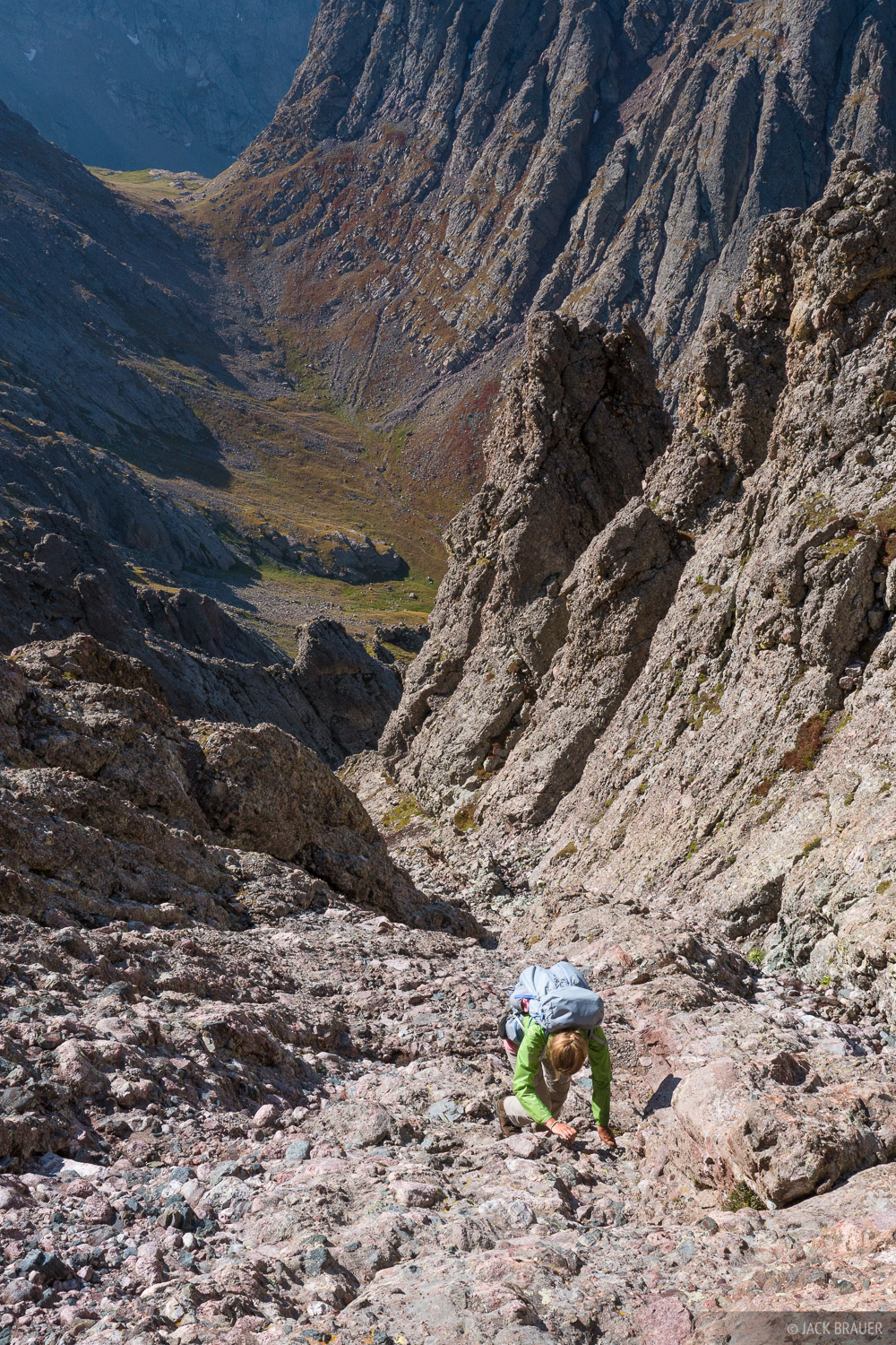 Colorado, Crestone Needle, Sangre de Cristos, 14er, hiking, climbing, Sangre de Cristo Wilderness, photo
