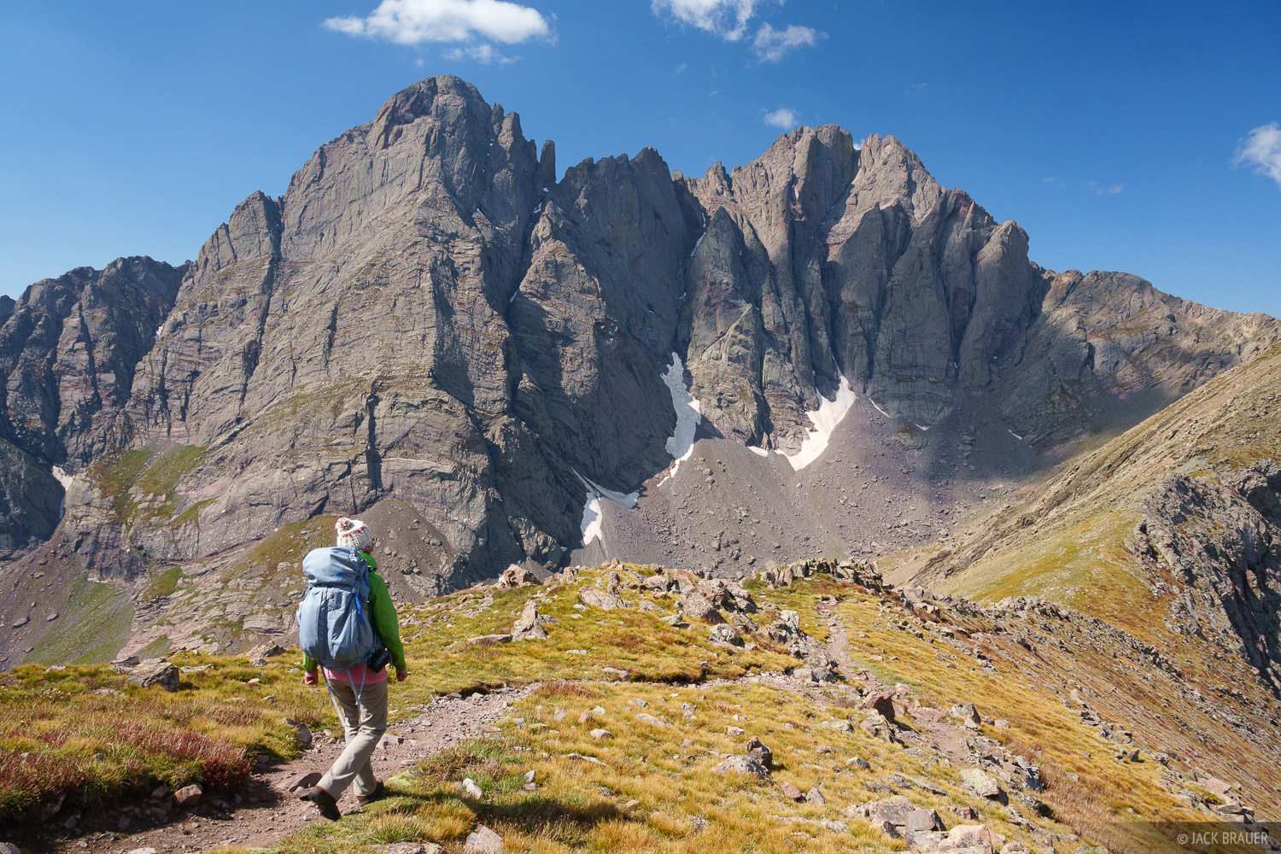 Colorado, Crestone Needle, Crestone Peak, Humboldt Peak, Sangre de Cristos, 14er, hiking, Sangre de Cristo Wilderness, photo