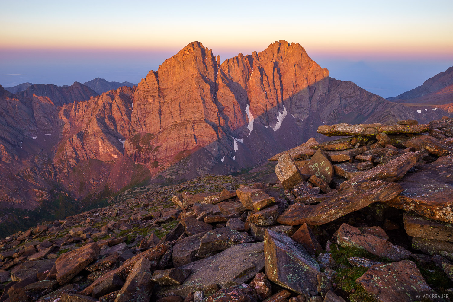 Colorado, Crestone Needle, Crestone Peak, Humboldt Peak, Sangre de Cristos, 14er, sunrise, Sangre de Cristo Wilderness, photo