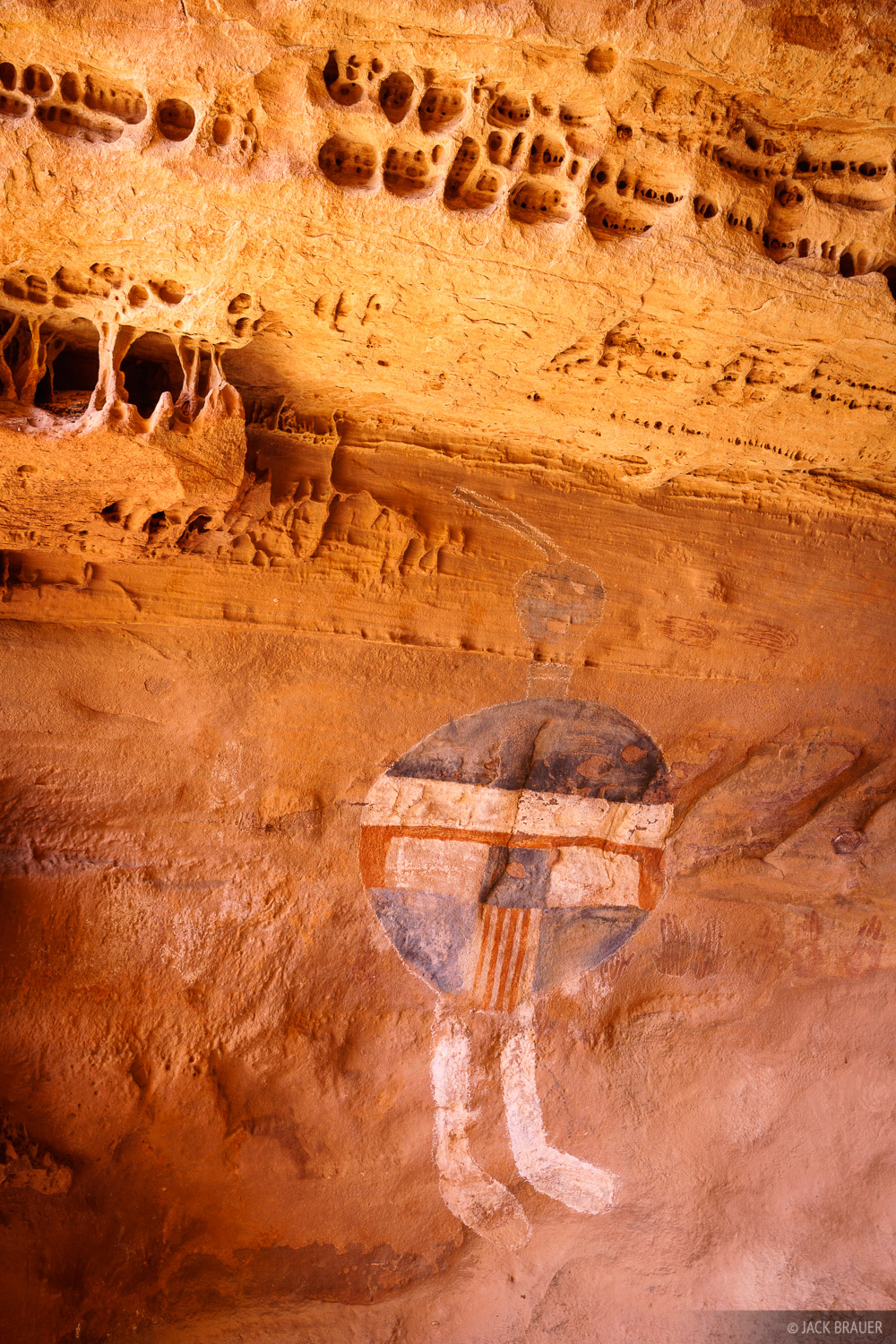 All American Man, Canyonlands National Park, Salt Creek, Utah, pictographs, ruin, November, photo