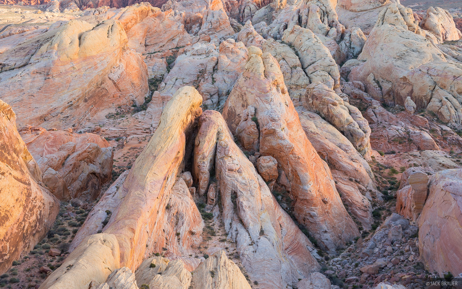 Nevada, Valley of Fire, White Domes, photo