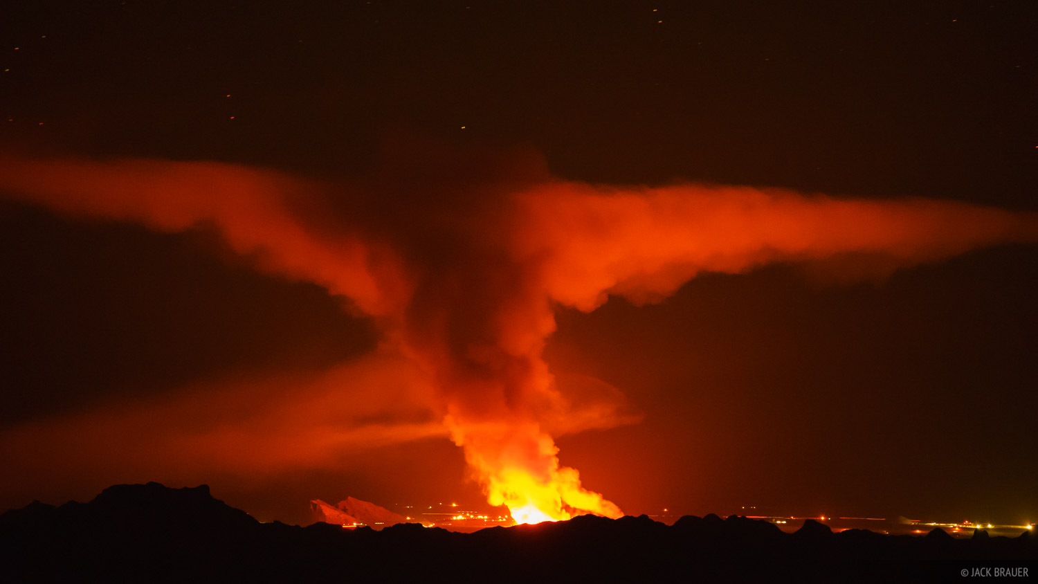 Arizona, Kofa National Wildlife Refuge, Signal Peak, wildfire, Kofa Mountains, photo