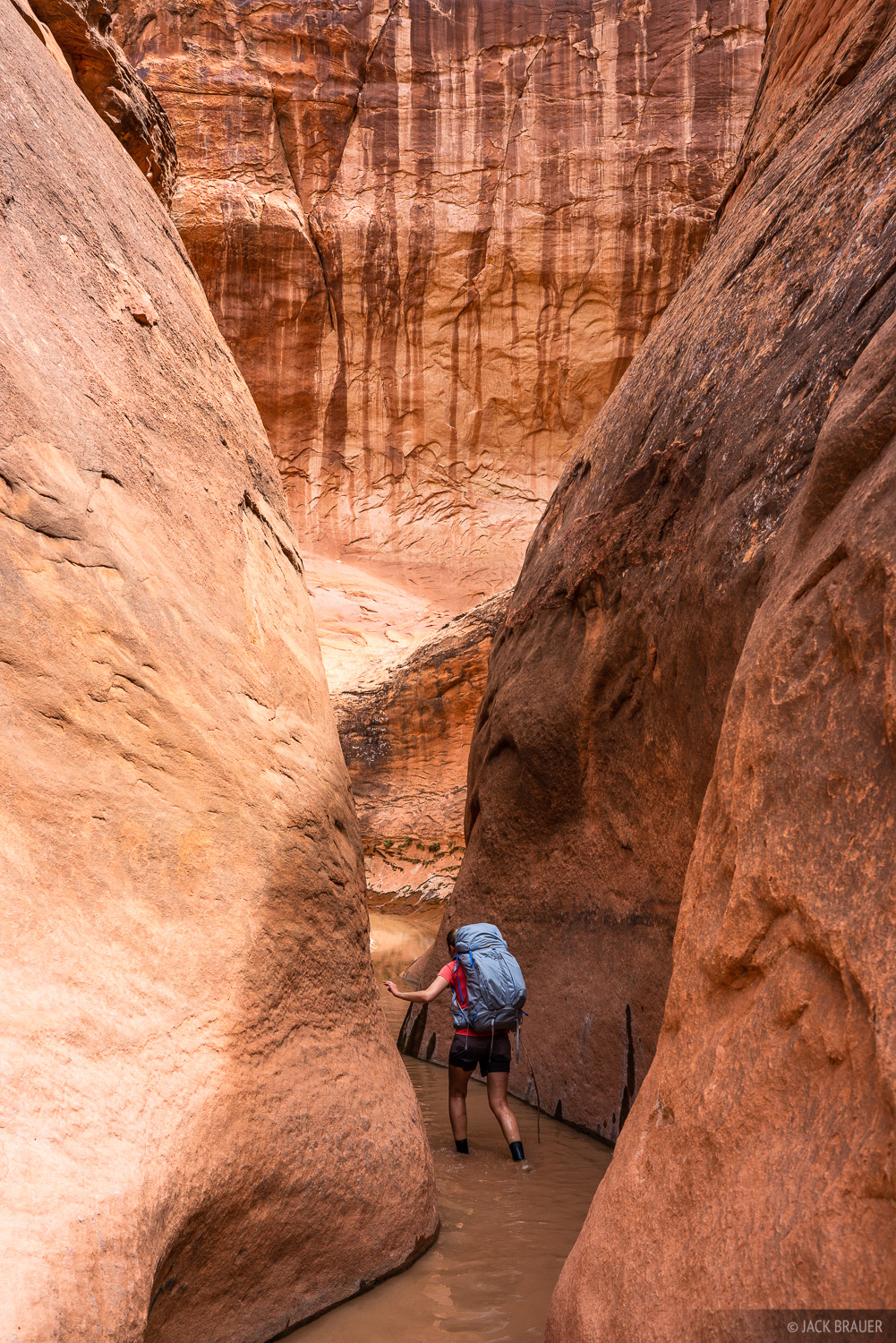Escalante, Fortymile Gulch, Glen Canyon National Recreation Area, Utah, hiking, photo