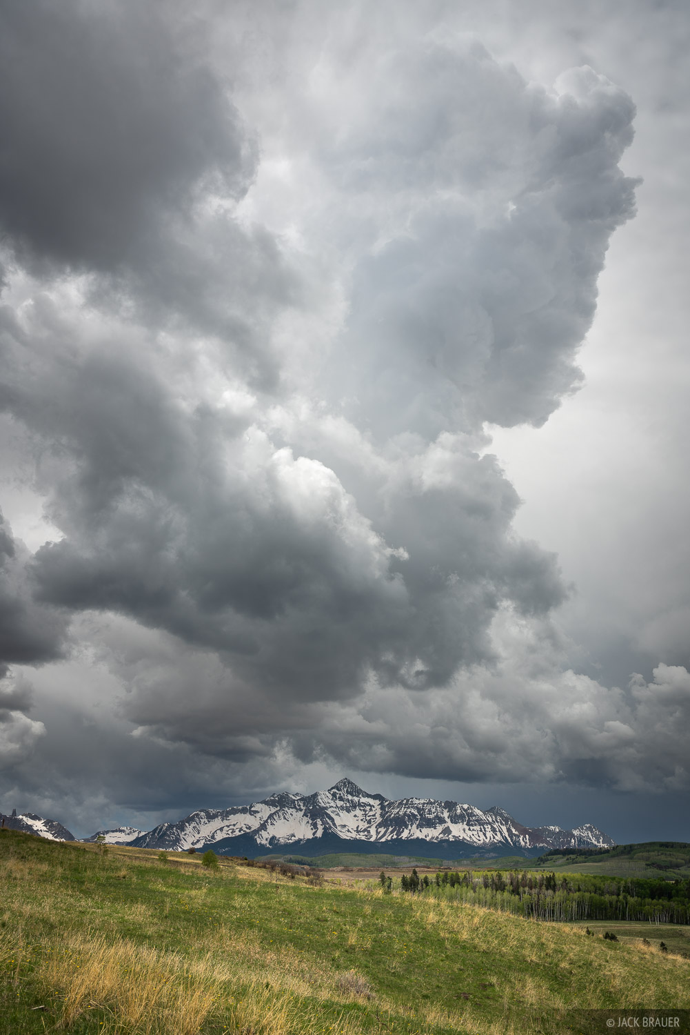 Colorado, San Juan Mountains, 14er, San Miguel Mountains, clouds, Wilson Peak, photo
