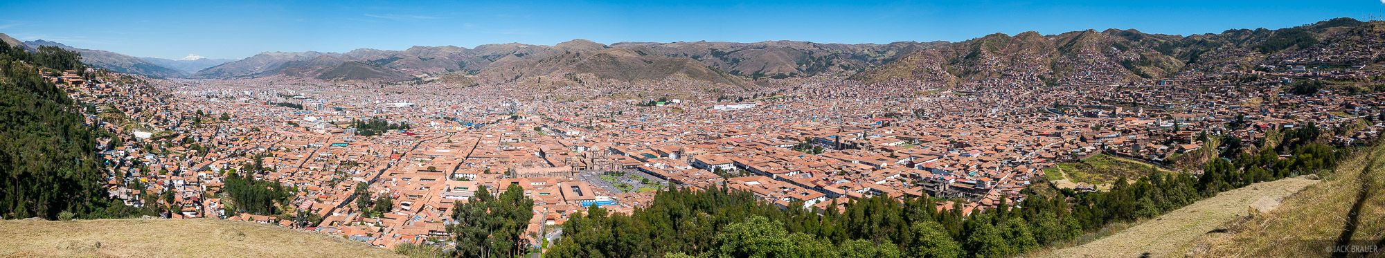Cusco, Peru, South America, panorama, photo