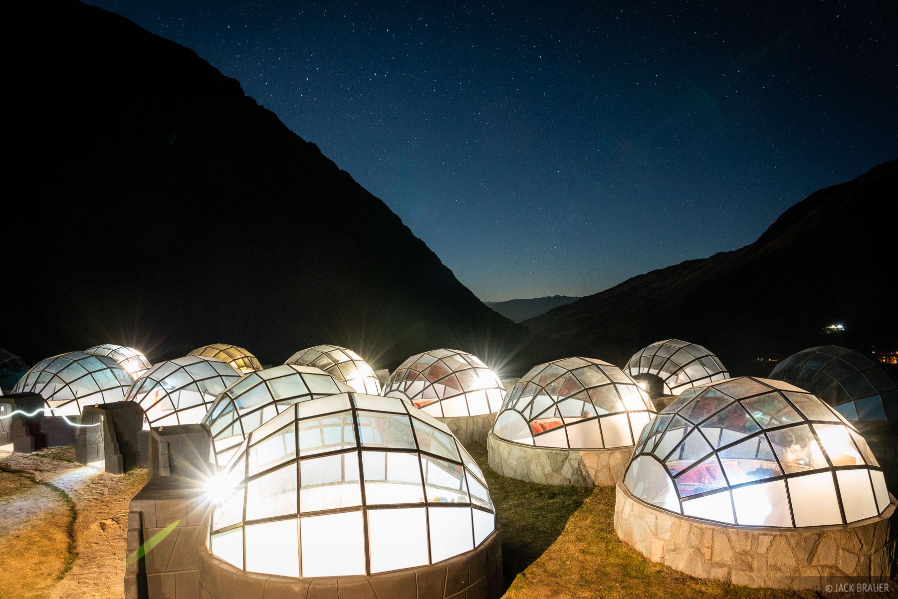 Cordillera Vilcabamba, Peru, South America, domes, photo