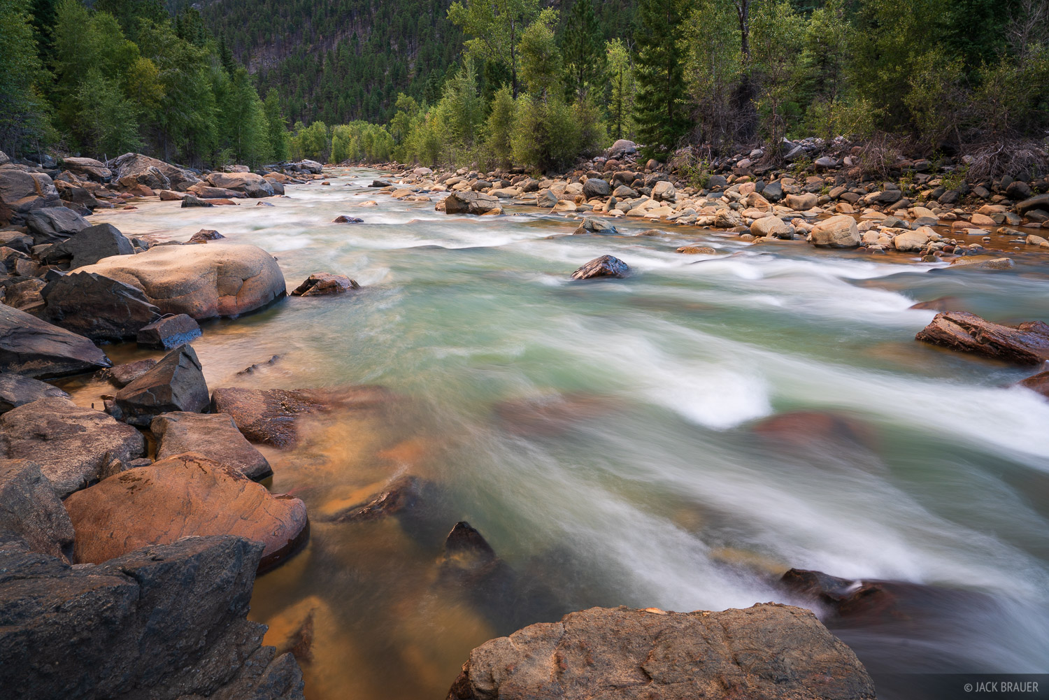 Animas River, Colorado, Needle Mountains, San Juan Mountains, Weminuche Wilderness, photo