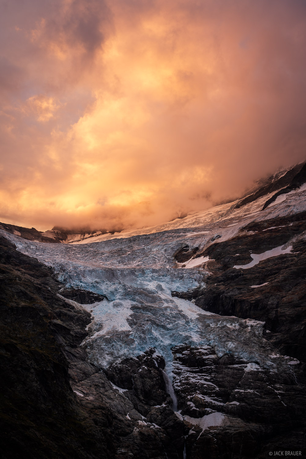 Bernese Alps, Switzerland, Bernese Oberland, glacier, sunrise, photo