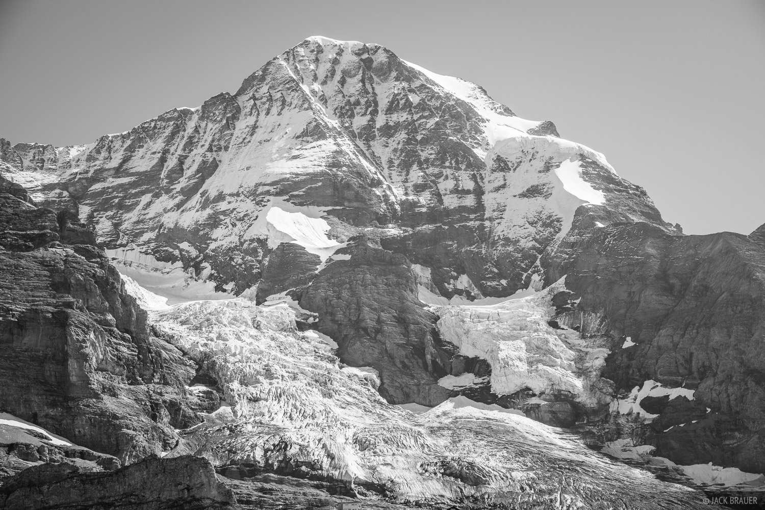 Mönch as seen from Kleine Scheidegg.
