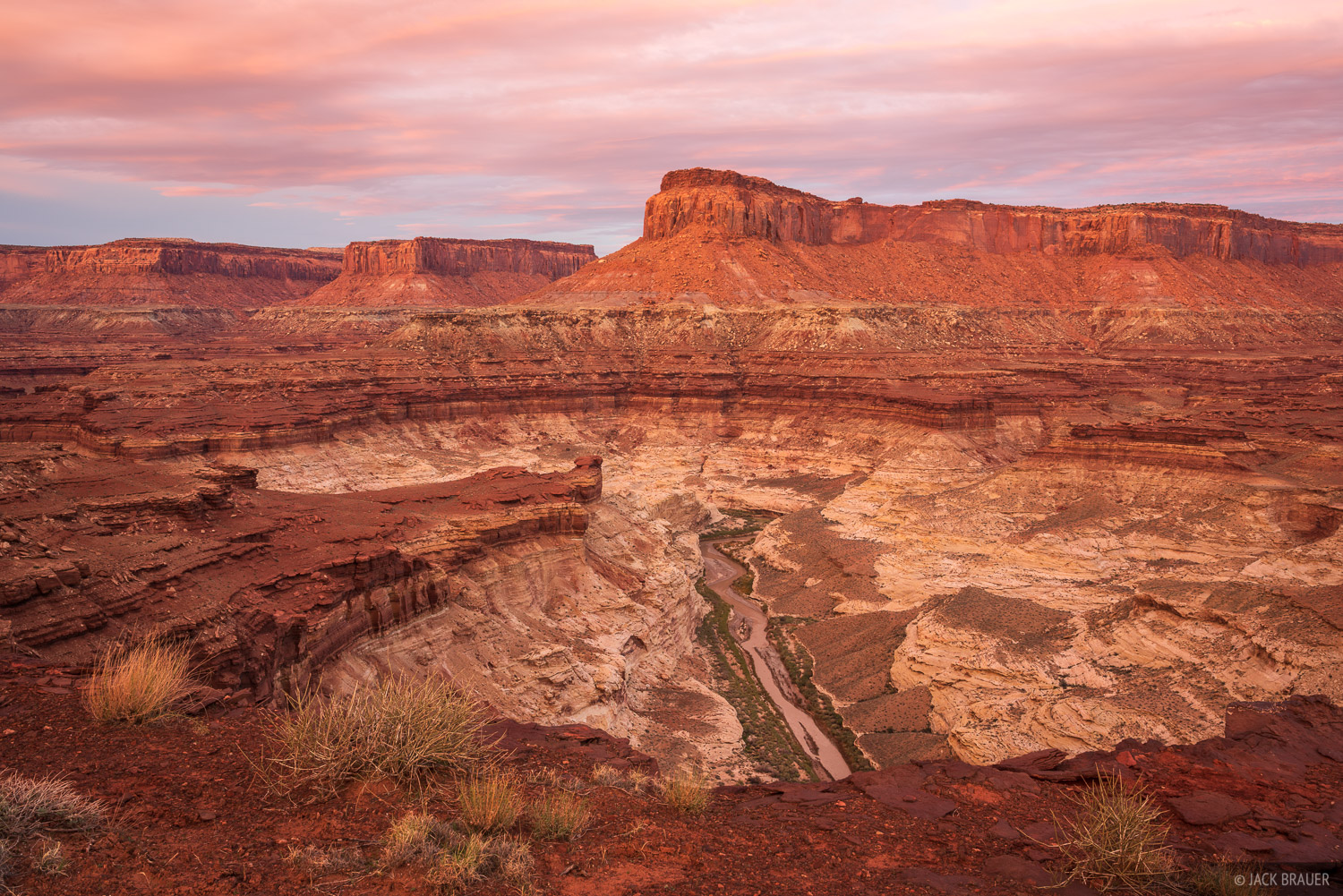 Dirty Devil River, Robbers Roost Country, Utah, photo