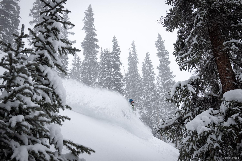 snowboarding, San Juan Mountains, Colorado, January, photo