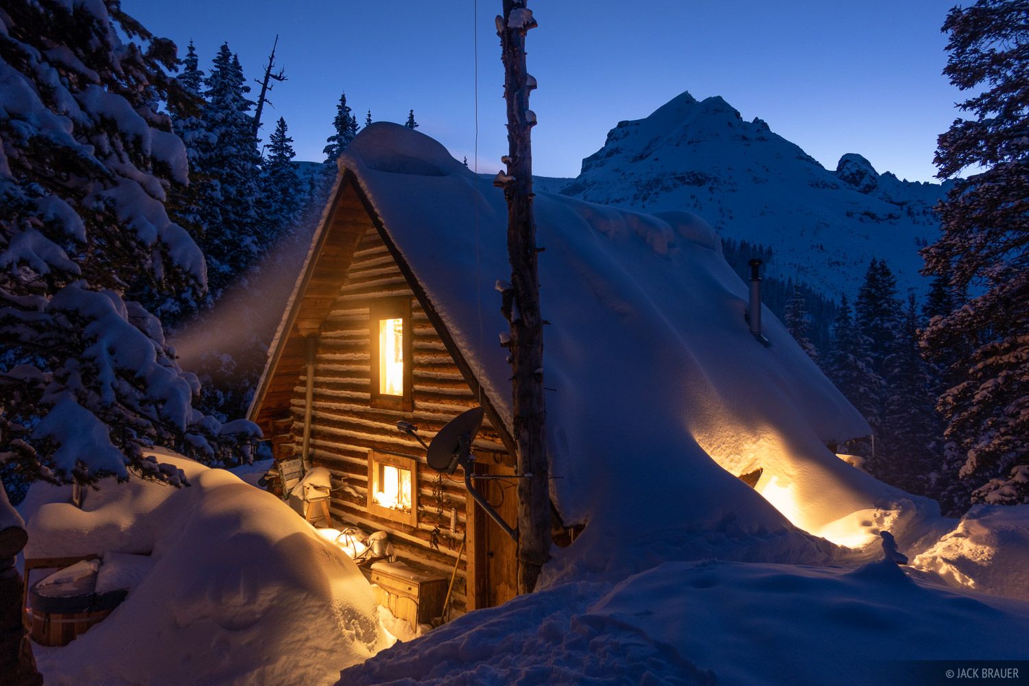 Colorado, Mount Hayden Backcountry Lodge, San Juan Mountains, United States Mountain, cabin, photo
