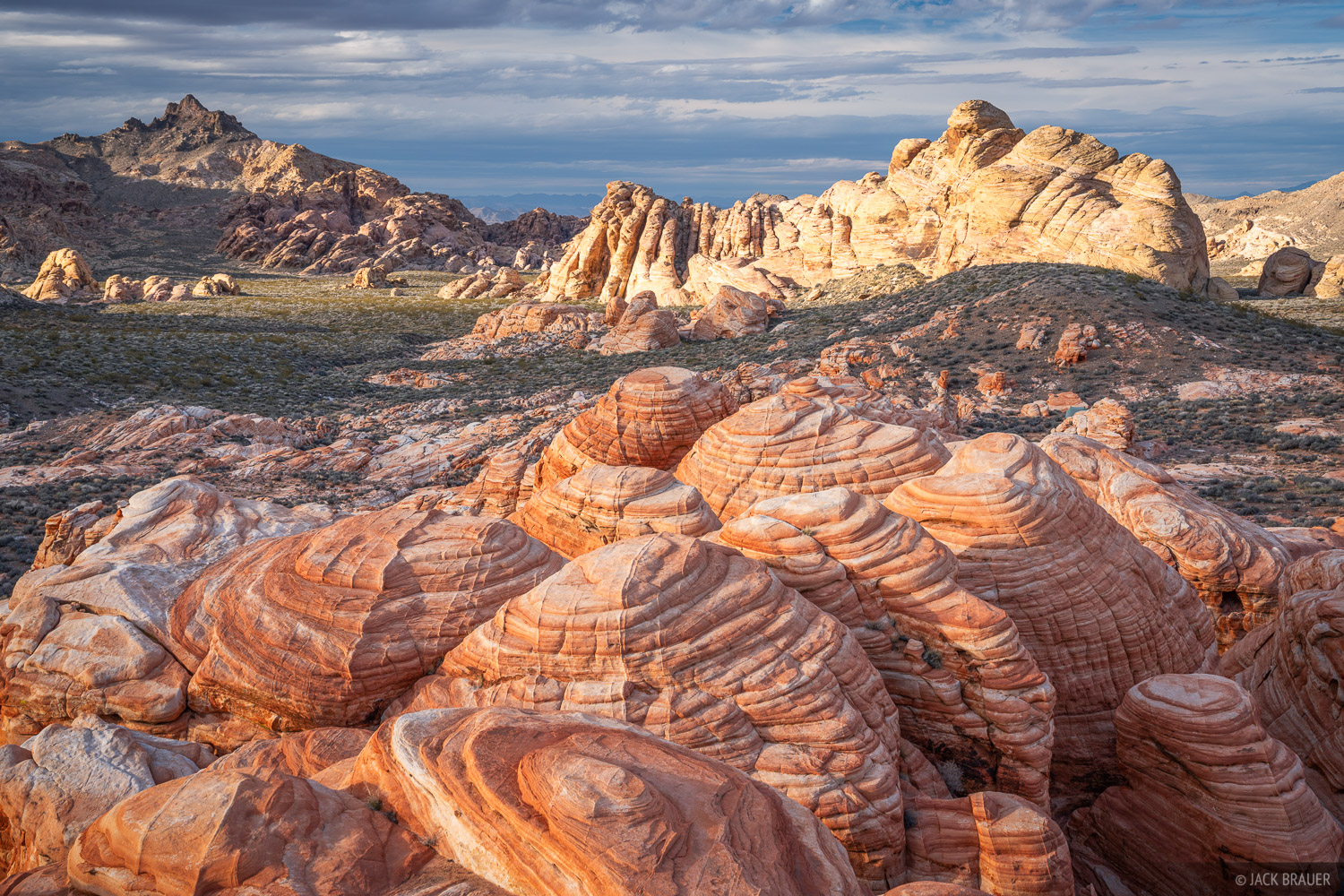 Orange sherbet sandstone formations.