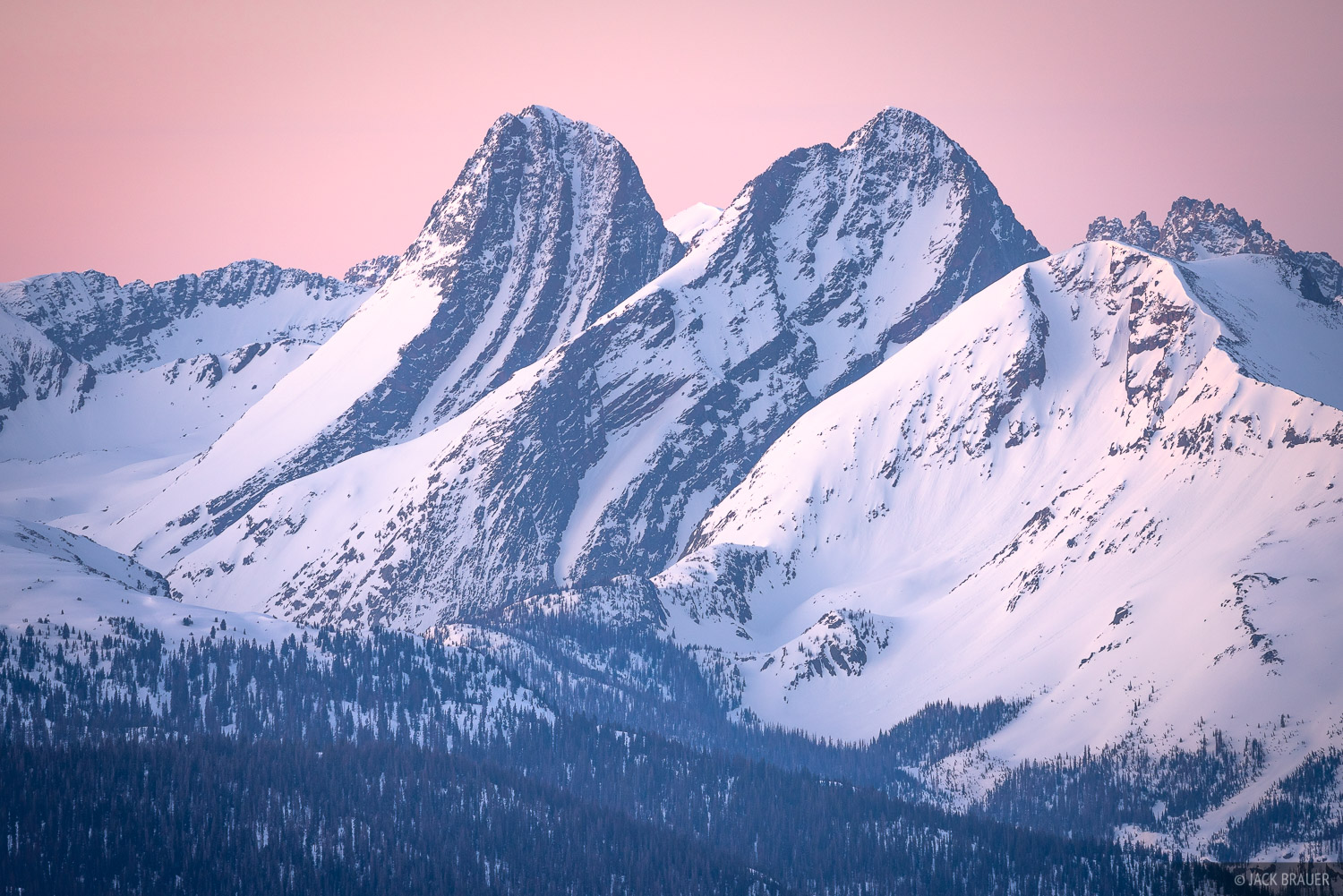 Arrow Peak, Colorado, Grenadier Range, San Juan Mountains, Vestal Peak, Weminuche Wilderness, sunrise