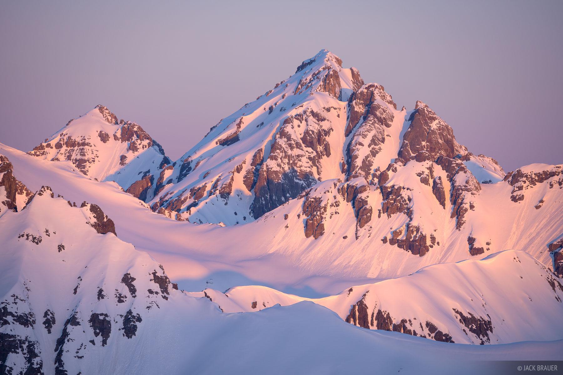 Colorado, San Juan Mountains, Ulysses S Grant Peak, sunrise, photo