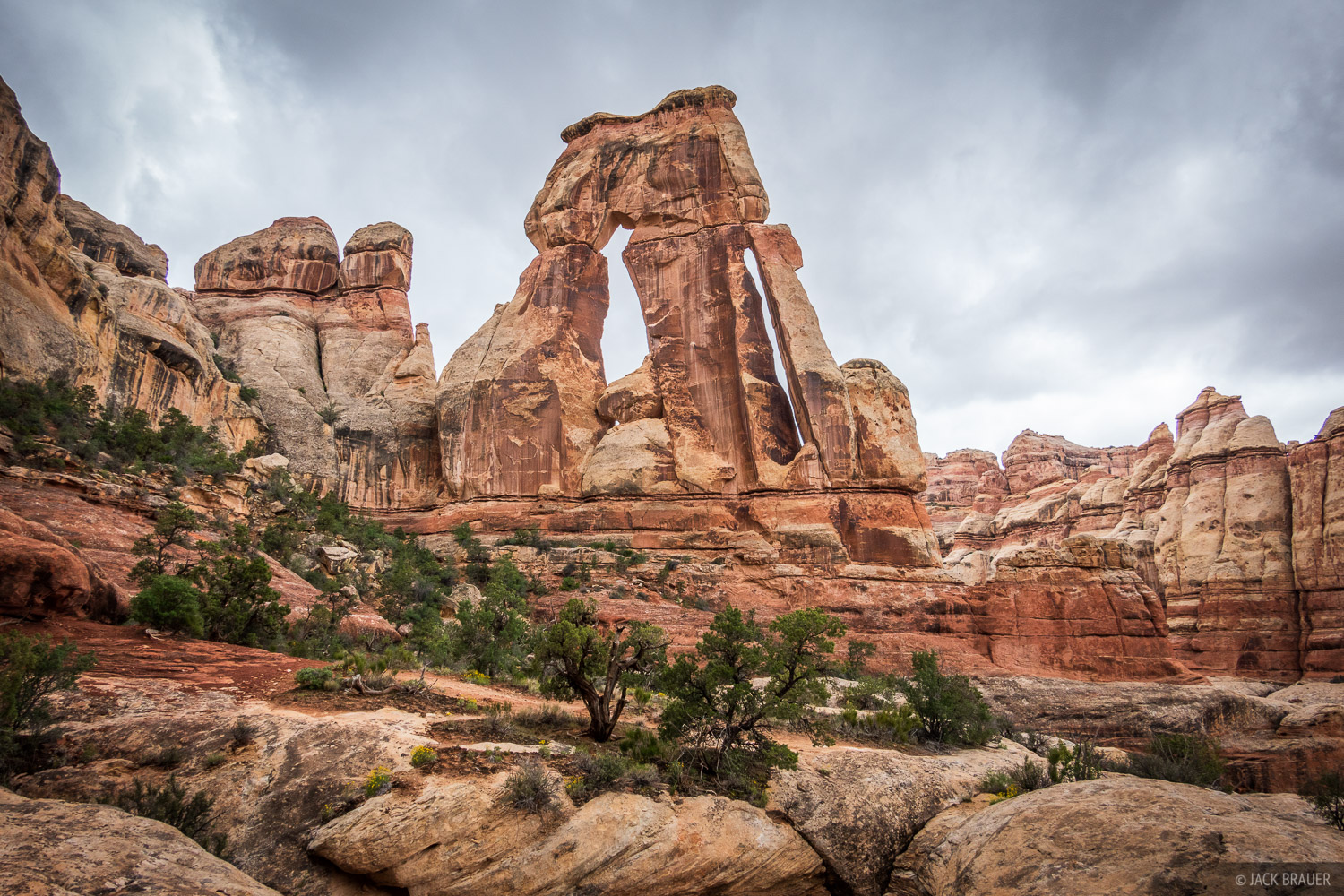 Canyonlands National Park, Druid Arch, Needles District, Utah, photo